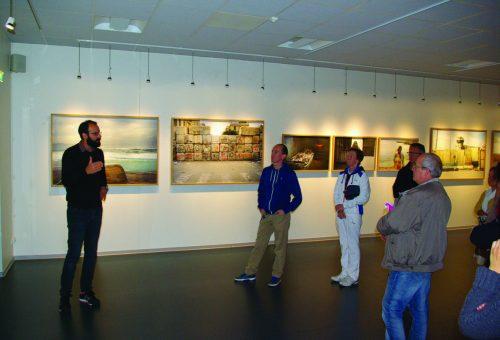 """Visite publique - Exposition """"Constellations"""" de Frack Pourcel - octobre 2015"""