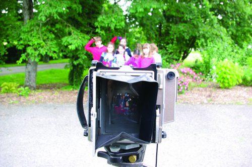 """Atelier de prises de vues à la chambre (technique collodion humide) - Résidence """"Territoires d'expériences"""" - 2013"""